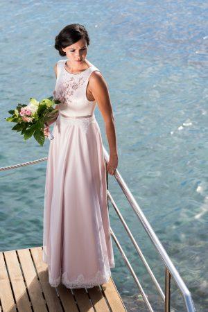 aleksandra Laigle créatrice de robes sur mesure